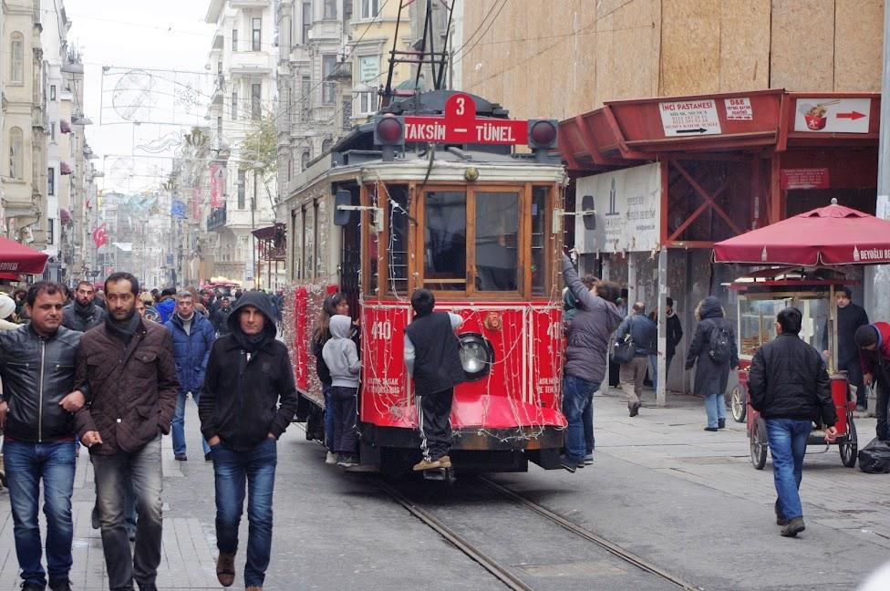 Qué ver en Estambul. Avenida de İstiklal