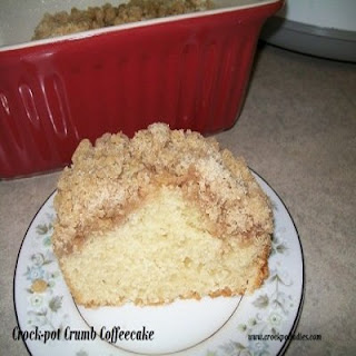 Crock-Pot Crumb Coffeecake