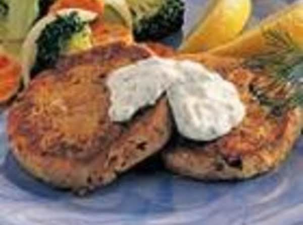 Easy Tuna Cakes  & Sauce Recipe