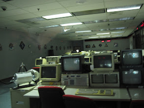 Photo: Skylab Mission Control, with all equipment from early 1970s still aligned as if operational!