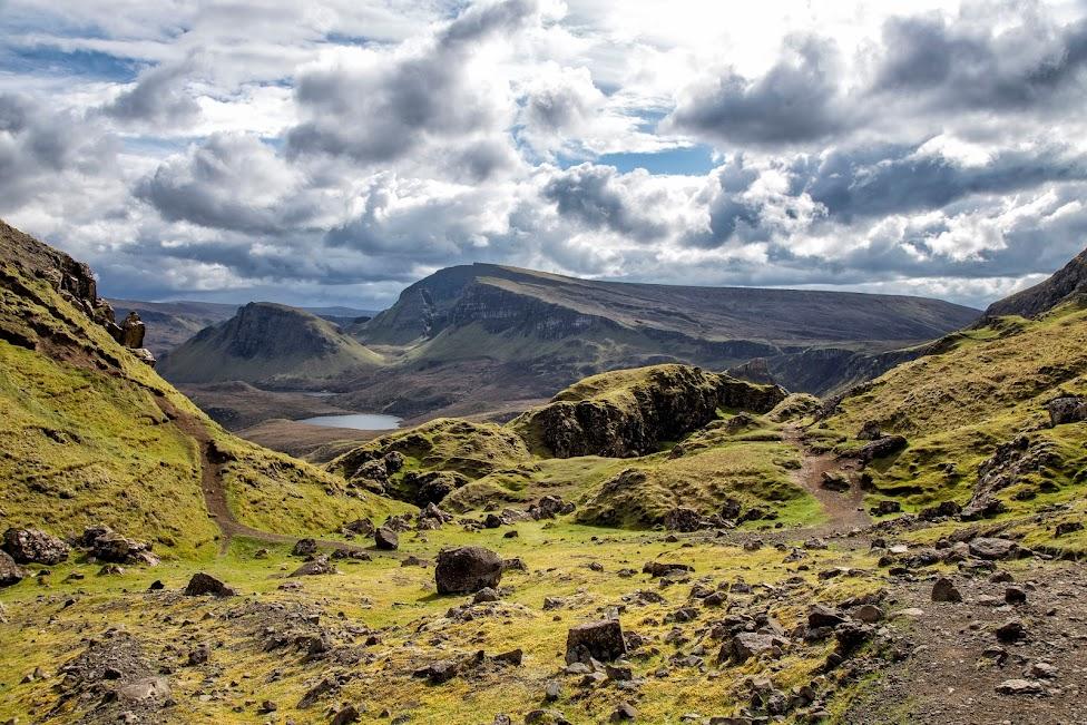 Szkocja, The Quiraing, atrakcje Wyspy Skye