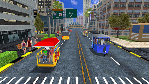 Offroad Tuk Tuk Rickshaw Driving: Tuk Tuk Games 20 apktram screenshots 1