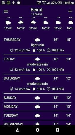 Ultimate Weather 1.1.1 screenshot 1396298