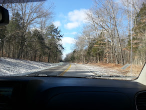 Photo: driving into the park