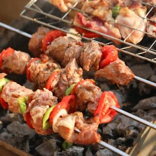 Mediterranean Pork Skewers