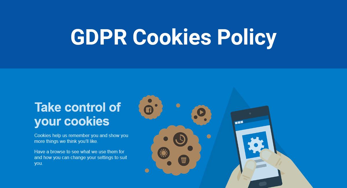 GDPR politika o kolačićima