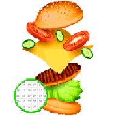 Foodies Color By Number Sandbox - Food Pixelart Android APK Download Free By Color By Number Pixelart Pages - Coloring Arena