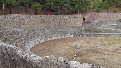 Photo: Ancient stadiums should make you imagine oiled up naked men running, because that's pretty much what happened here.