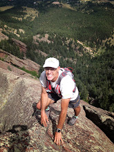 Photo: Just below the summit of the Fifth Flatiron