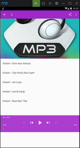 Kumpulan Lagu Minang 1.0 screenshots 2