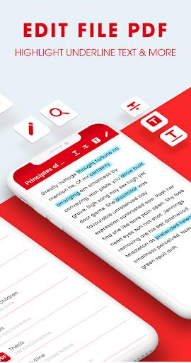 PDF Reader , PDF Viewer & PDF Files Manager  screenshots 2
