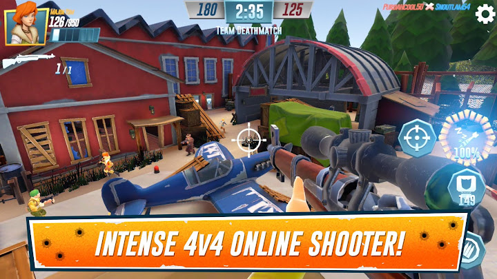 Heroes of Warland - PvP Shooter Arena Android App Screenshot