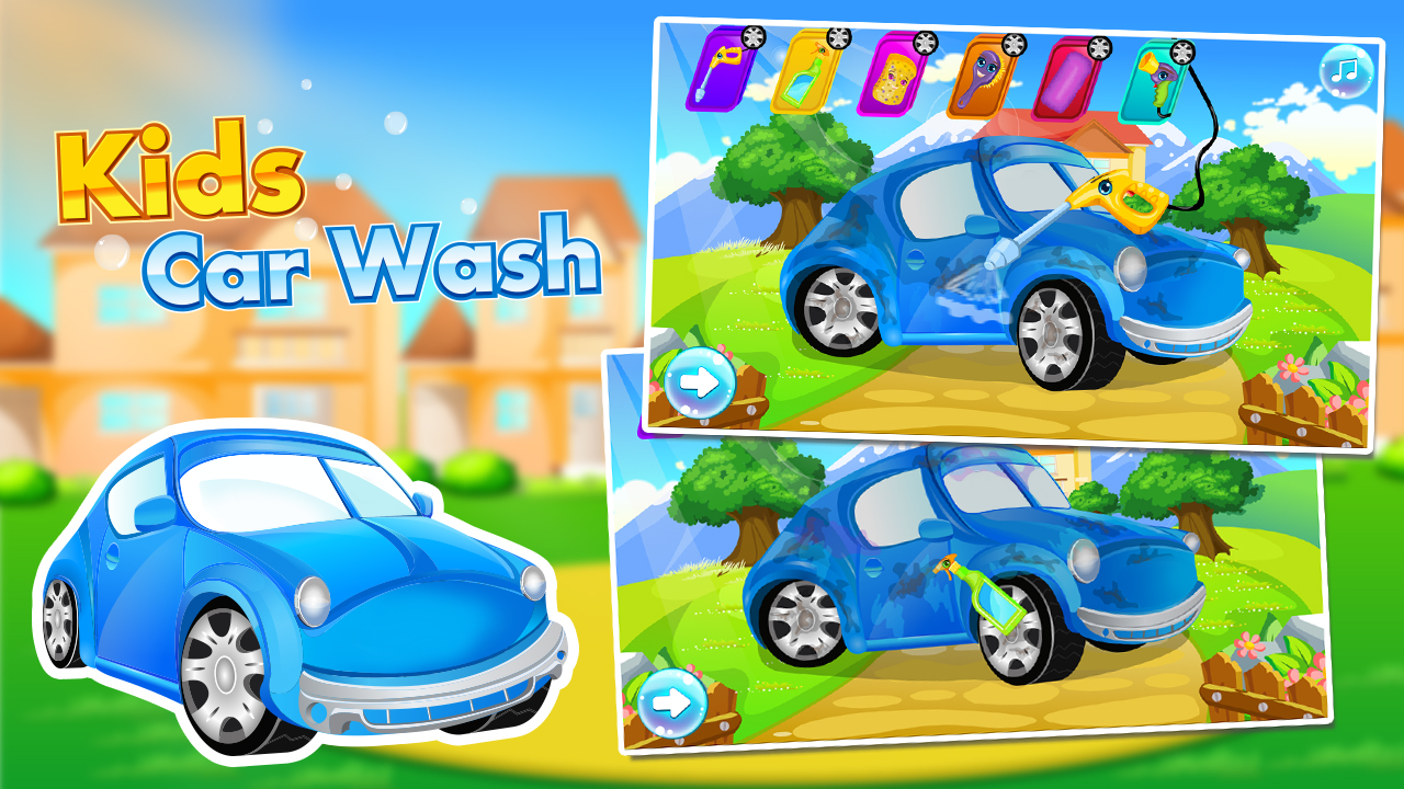 Kids Car Wash- screenshot