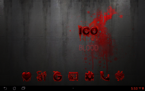 Tha Blood - Icon Pack- screenshot thumbnail