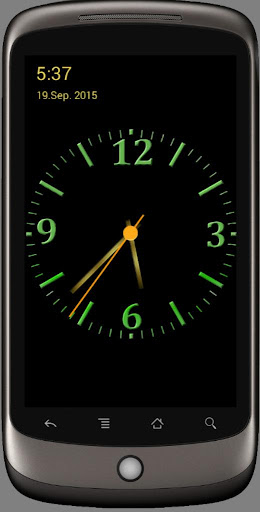 Screenshot for Nice Night Clock with Alarm and Light in Hong Kong Play Store