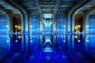Photo: The Private Pool at Hearst Castle - Pool party anyone?  This place is unbelievably awesome! I was lucky enough to get a private tour of the castle, so I could use my tripod with reckless abandon. I have published one other photo of this pool, but never one from this side.  So, let's have a pool party here! I'll bring some bacon-wrapped dates. What are you gonna bring?