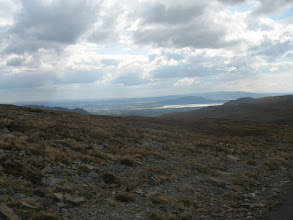 Photo: Looking to Knocknarea (in centre)