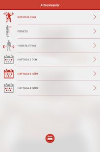 Fitness & Vücut Geliştirme Screenshot