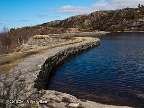 Photo: Dam, Sandviksfløyen, Bergen