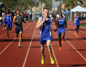 Photo: Austin Nuchols 1st 400m 48.97
