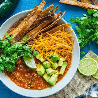 Mexican Quinoa Soup.