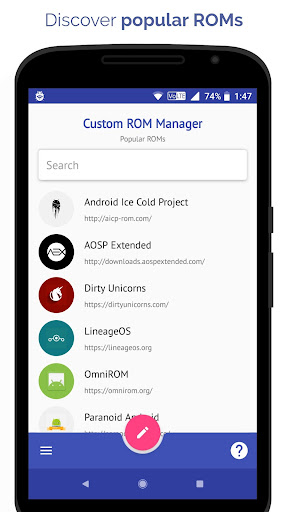 [ROOT] Custom ROM Manager  screenshots 1