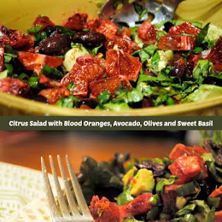 Blood Orange and Avocado Salad