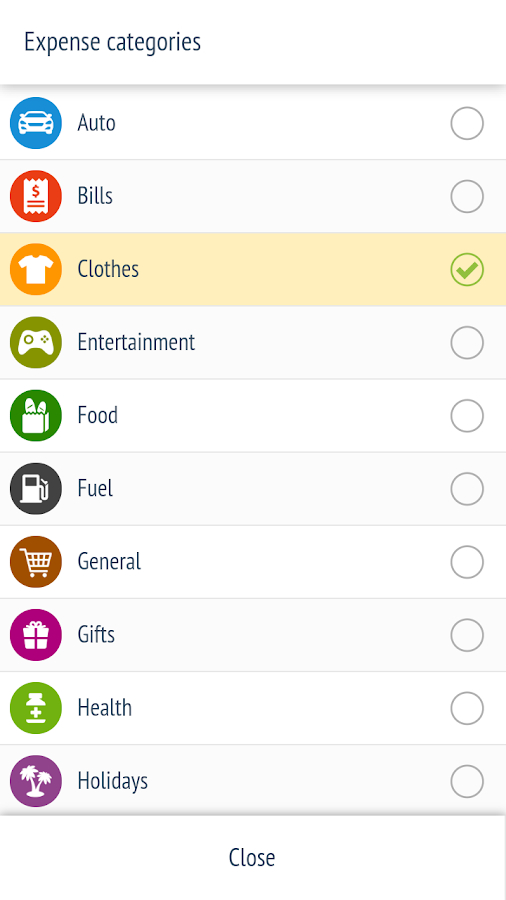 Expense Manager - Tracker- screenshot