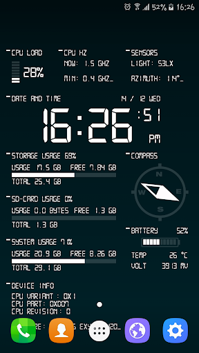 Oajoo Device Info Wallpaper 1.2.b24 screenshots 1