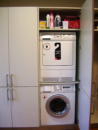 Con el comedor separado ceisa - Lavadora y secadora en columna ...