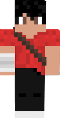 Jake skin with with stripes on right arm and a brown line on the body.