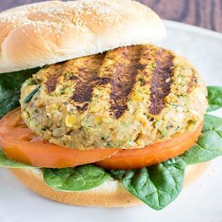 Chickpeas Zucchini Burger