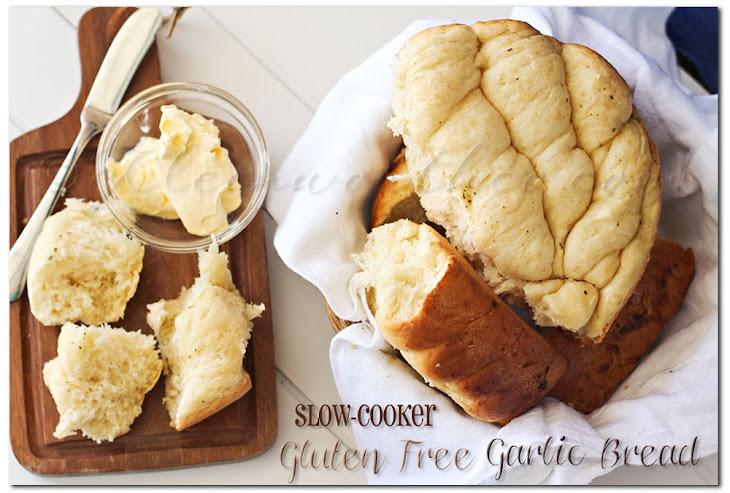 Slow Cooker Gluten Free Garlic Bread Recipe