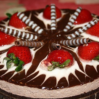 Cake «Brownie» with cream cheese