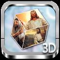 Jesus 3D cube live wallpaper icon
