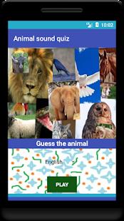 Animal sound quiz - náhled