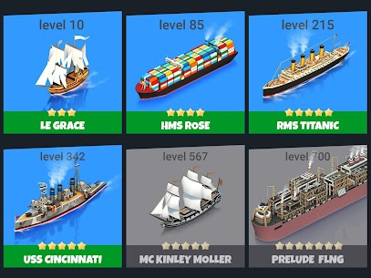 Sea Port: Build Town & Ship Cargo  MOD APK (Unlimited Gems) 3
