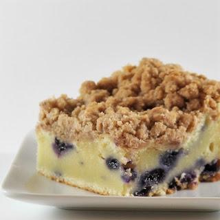 Sour Cream-Blueberry Crumb Cake Recipe