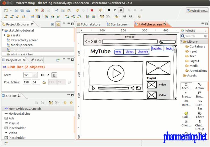WireframeSketcher Free Download