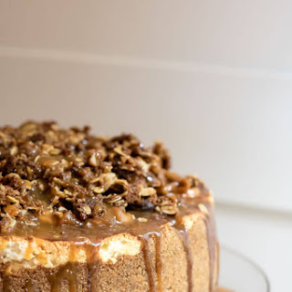 Caramel Apple Pie Cheesecake.
