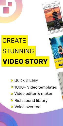 Video Story Maker, Post Maker, Social Video Maker 28.0 screenshots 1