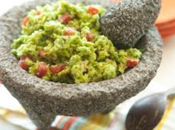 Green Pea Guacamole Recipe