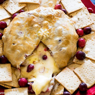 Cranberry Almond Baked Brie.