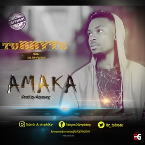 Cover Art for song Amaka (prod.by.Abyoung)