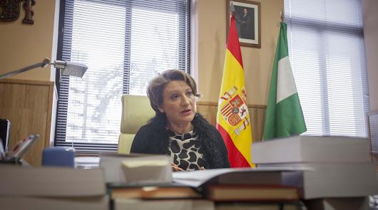 La magistrada Lourdes Molina se despide de Almería tras 12 años