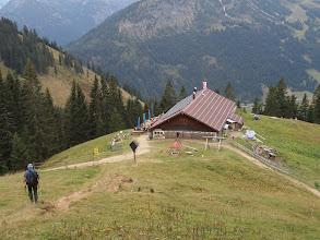 Photo: Schneetalalmhütte bei 1650 m