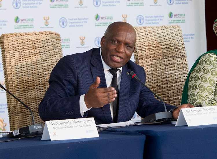 Minister of agriculture' forestry and fisheries Senzeni Zokwana. Picture: GCIS