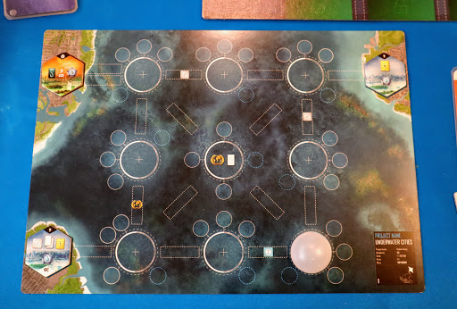 ゲームの準備:アンダーウォーターシティ (Underwater Cities)