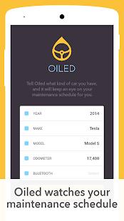 Oiled - Car Maintenance Plus screenshot