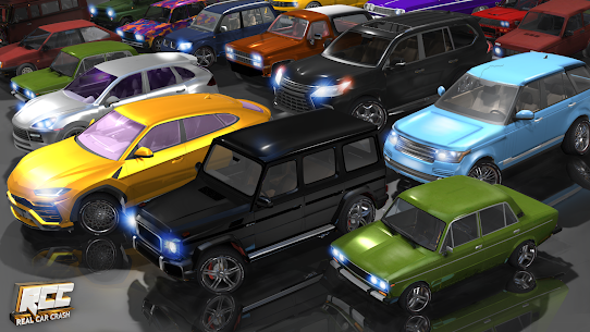RCC – Real Car Crash Mod Apk 1.2.6 (Unlimited Currency + Level 100) 2
